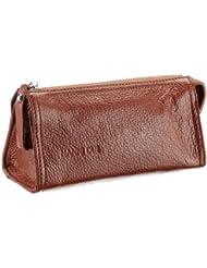 Nanni Due Grain Leather 65104 54 6836, Unisex - Erwachsene Kosmetiktaschen 19x8x7 cm (B x H x T)