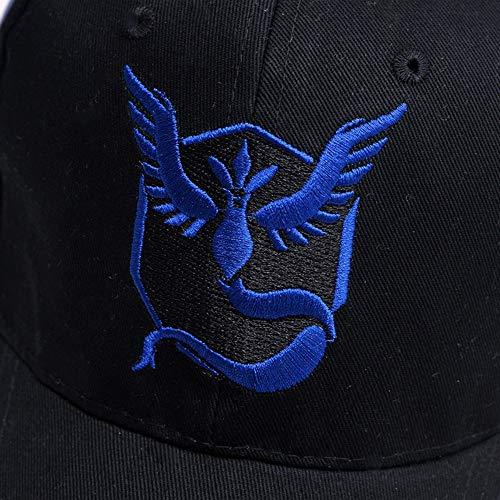 Imagen de ysyncap pokemon   equipo de equipo equipo de valor místico instinto pokemon  equipo  de béisbol negra hombres snapback pokemon  mujer, amarillo alternativa