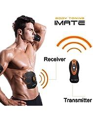 Fitness-Gerät EMS Bauchmuskeln Training Muskelstimulation AB Abnehmen Bauchtrainer Abdominale Massagegerät Fettverbrennung Erarbeiten für Männer und Frauen