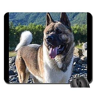Gaming mouse pads,mouse mat,Akita American Vacation Outdoors Nature Dog 1