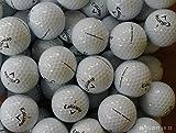 24 CALLAWAY CHROME SOFT GOLF BALLS - PEARL / GRADE A LAKE BALLS