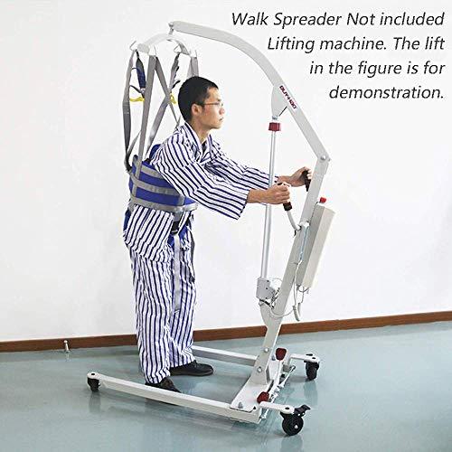 51lP 5aEaKL - ZIHAOH Cabestrillo De Elevación De Paciente De Cuerpo Completo, Cinturón De Transferencia Médica De Elevación para Personas Mayores Discapacitados, Cinturón para Caminar Asistido por El Paciente