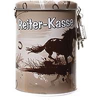 """Spardose """"Reiter-Kasse"""" aus Metall, mit Pferde-Motiv preisvergleich bei kinderzimmerdekopreise.eu"""