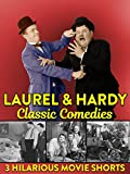 Laurel & Hardy Classic Comedies - 3 Hilarious Movie Shorts