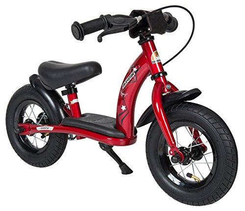 Preisvergleich Produktbild BIKESTAR® Premium Sicherheits-Kinderlaufrad für kleine Abenteurer ab 2 Jahren  10er Classic Edition  Herzschlag Rot