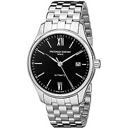Frederique Constant Index Automatic Herren-Armbanduhr 40mm Armband Edelstahl Automatik Analog FC-303BN5B6B