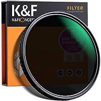 K&F Concept - Filtro Densidad Neutra Variable ND2-ND32 67mm con MRC 18 Capas Filtro ND Fotogáfico para Objetivo ND 67mm (5 Pasos)
