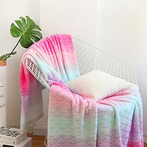 decke,decke allergiker,decke gestrickt,decke anker,decke baumwolle,decke outdoor,decke deko,decke paw patrol.Flanell Teppich B & B dekorative Decke Korallen Samt Decke Schal 135 * 165cm-pink