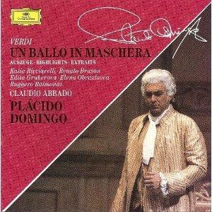 Verdi-un Bal Masque-Extraits-Domingo-Ricciarelli-Abbado-Otsm