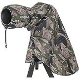Housse de pluie camouflage objectif 400 mm taille L