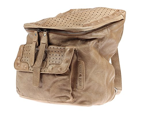 Greenburry Stainwashed Sac à dos cuir 25 cm clay