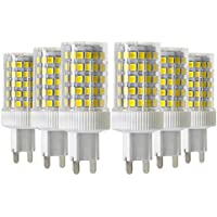 AC 220V Color : 220V, Size : Cold White LLP-LED Dimmable LED Bulbs G4 7W 136 SMD 5730 600-700 LM Warm White Cool White Corn Bulbs AC 110V