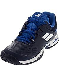 Babolat , Chaussures de tennis pour garçon bleu bleu foncé