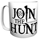 Supernatural tazza XXL partecipare alla caccia To Hell And Back 590ml ceramica bianca