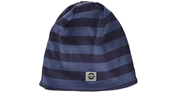 mikk-line Boy s Wool Mütze Gestreift Hat, Multicolour (Crown Blue 252),  (Size  122 128)  Amazon.co.uk  Clothing 18eebdf1b60