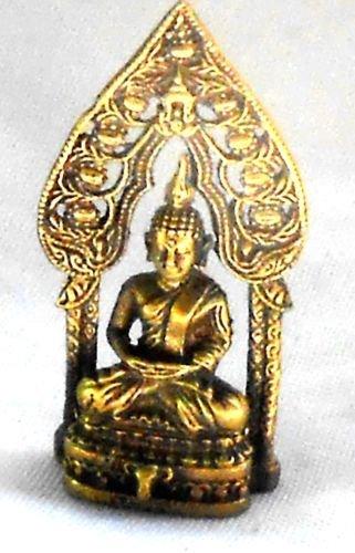 Buda figura latón muy delicado 3,2x 1,5cm de Tailandia
