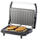 Lifelong LLPM900 900-Watt 2-Slice Panini Grill Sandwich Maker (Panini Maker)  (Black/Grey)
