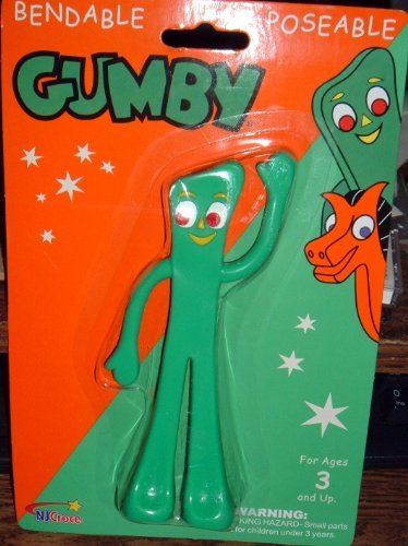 Gumby/Semper Gumby 6 Bendable by NJ Croce