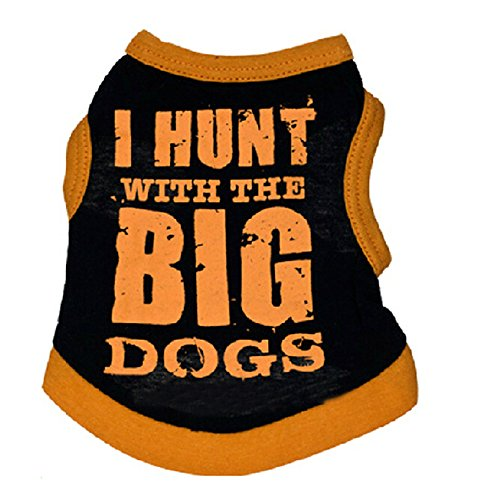 am-sweet-dog-cat-puppy-i-hunt-with-the-big-dogs-vest-shirt-t-shirt-orange-and-black