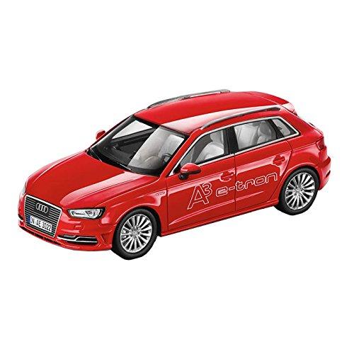 Audi 5011403013 auto A3 Sportback E-Tron Modellino in scala 1:43, Misano Rosso
