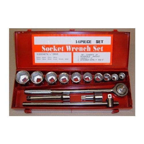 Truck-Jeu de douilles et cliquets Castes, 1,91 cm (19,5 Drive SW 22 mm, jusqu'à 50 mm