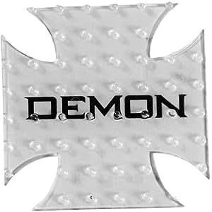 DEMON Cross Stomp Clear Clear