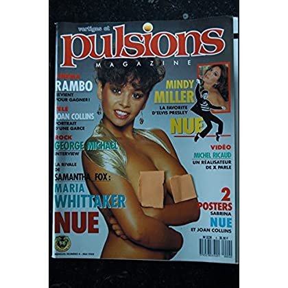PULSIONS 04 JOAN COLLINS MINDY MILLER MARIA WHITTAKER NUES POSTER SABRINA TOPLESS