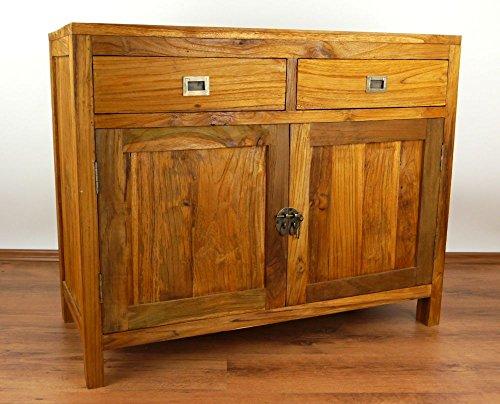 Asia Wohnstudio Java Kommode aus Teakholz | Sideboard aus Massivholz | Garderobenschrank der Marke...