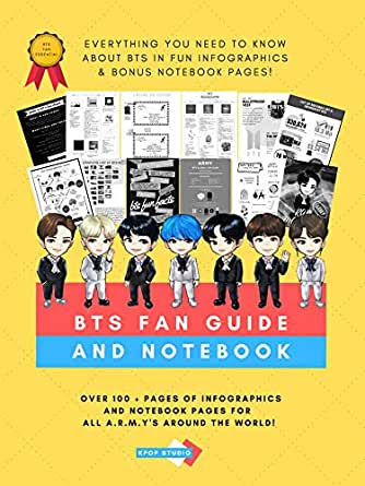 BTS Fan Guide And Notebook - Everything You Need To Know