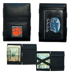 NCAA Clemson Tigers Jacob's Ladder Wallet