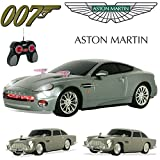 Official Licensed Comtechlogic CM-2168 007 James Bond Aston Martin DB5 V12 Vanquish Radio Control Car from Skyfall Goldfinger Die Another Day (Aston Martin V12 Vanquish - Die Another Day)