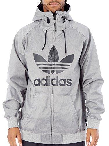 adidas Herren Grley Soft Shell Sweatshirt, Grau, L (Soft-pullover)