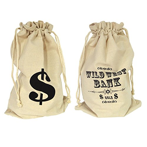ESPA / FunnyFashion NEU Geldsack, Moneybag, 29 x 48 - Geschenk Tasche Kostüm