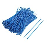 2,5 mm x 150 mm ajustables-bridas de Nylon azul 200 piezas