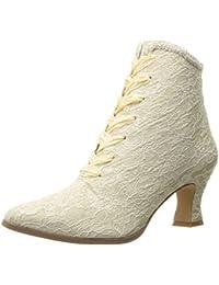 Funtasma victorian 30 rétro femme en satin style burlesque dentelle beige champagne (36–42)
