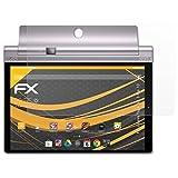 atFolix Schutzfolie für Lenovo Yoga Tab 3 Pro 10 Displayschutzfolie - 2 x FX-Antireflex blendfreie Folie