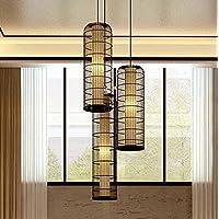 SBWYLT-Lampadario in stile cinese in ferro battuto birdcage, hotel ristorante retro ingegneria lampade, scale Club Hotel Lampadario