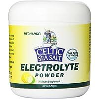 Celtico Sea Salt elettroliti Powder Drink Mix, 4,2 oncia (Celtic Sea Salt Electrolyte Powder Drink Mix, 4.2 Ounce)