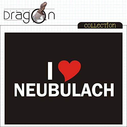 T-Shirt - i Love Neubulach - Herren - unisex Schwarz
