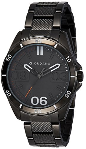 51lPORmRkKL - Giordano A1050 44 Grey Mens watch