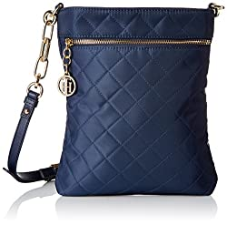 Tommy Hilfiger Isabella Nylon Navy Blue Sling Bag