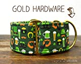 Martingal Hundehalsband: Irish, von Hand gefertigt in Spanien von Wakakán
