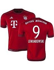 FC Bayern München Home Trikot 2015/16 - LEWANDOWSKI-9.