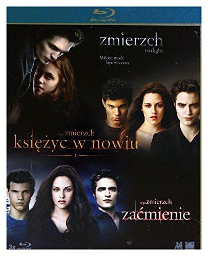Twilight / Twilight Saga: New Moon, The / Twilight Saga: Eclipse, The [3Blu-Ray] [Region B] (IMPORT) (Keine deutsche Version)