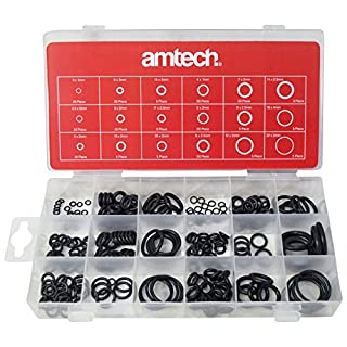Am-Tech 225 Stück O Rings, S6240