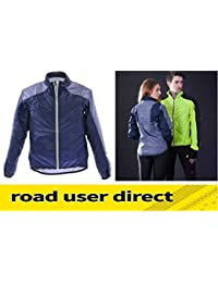Raleigh RSP Wind & Shower Proof Cycling Jacket - Blue & Grey - Large