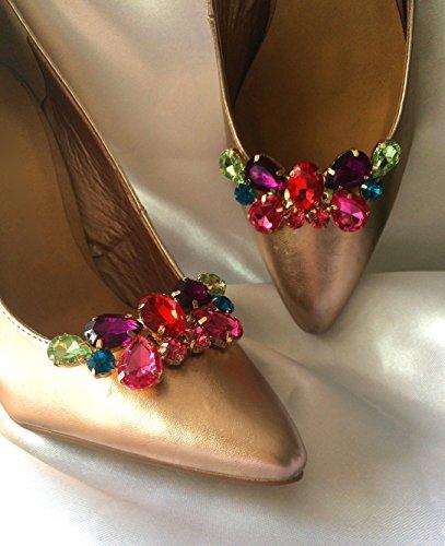 Lizzy Multicolore Scarpe Clip muticoloured Taglia unica