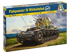 Italeri 7074S - Maqueta de Tanque IV (Escala 1:72, construcción de maquetas, construcción de Modelos, Manualidades, Aficionados, Pegado, Juego de construcción de plástico, Fiel a los Detalles)