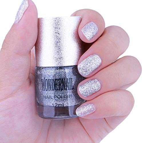 ck schnell trocken langlebig Nail Art Matte Nagellack Gel,Nagellack Gellack Set nail Gel Polish für Nageldesign ()
