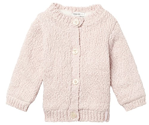 Noppies Baby-Mädchen Strickjacke G Cardigan Knit Burlington, Rosa (Light Pink C091), 68